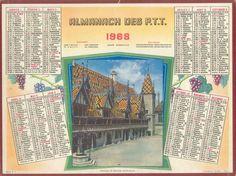 Almanach des Postes 1968