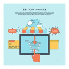 Internet Shopping by robuart on Creative Market