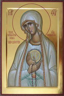 Preghiera all'icona della Madre di Dio di Fatima | LAPISALBUS
