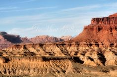 Wild Canyon, Landscape Print, Photography, Desert, Canyon, Senic View, Utah, Rock Formations KD70 by DeMintGallery on Etsy