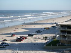You can drive on the beach at New Smyrna Beach, Florida!