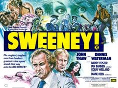 Images of the Thriller Movie Posters I have in my collection. British quad and 1 sheet with art I like from Tom William Chantrell and others Movie Poster Art, Film Posters, The Sweeney, Top Tv Shows, Tv Detectives, Detective Series, Vintage Movies, Feature Film, Film Movie