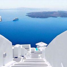 """""""Santorini  #greece"""""""