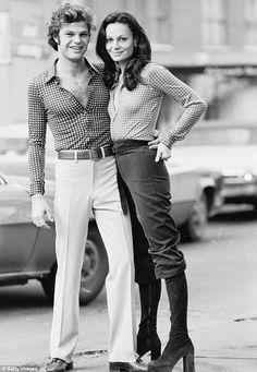 Diane von Furstenberg & first husband, Prince Egon   1970s #Fashion #Vintage #DVF #Fashion #Designer