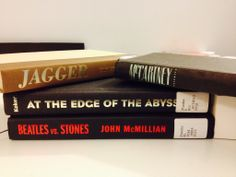 """""""The Boomers Dilemma"""" - Jagger - McCartney / At the edge of the abyss / Beatles vs. Stones   #haiku #butlerbookspine"""