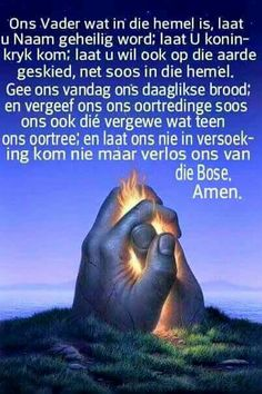 Onse Vader Afrikaanse Quotes, Prayer Times, Bible Prayers, Christian Quotes, Best Quotes, Nice Quotes, Christianity, Faith, Words