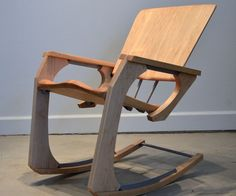 The ARK Rocker is concept piece exploring the intersection of modern manufacturing technology with timeless craft techniques. Every part of this rocking chair was made was made using digital fabrication ...
