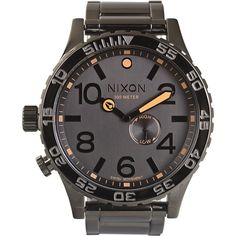 Nixon The 51-30 Watch ($500) ❤ liked on Polyvore
