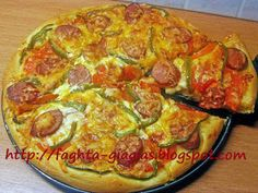 Τα φαγητά της γιαγιάς: Πίτσα Καταντζάρο Calzone, Pepperoni, Italian Recipes, Quiche, Pizza, Breakfast, Food Ideas, Italy, Morning Coffee