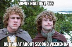 every dang monday...