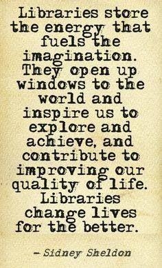 the magic of #libraries