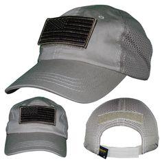 5723d936bc9 Hook and Loop Fastener w  US Flag Patch - Mesh Back Hat - Nine Line Apparel