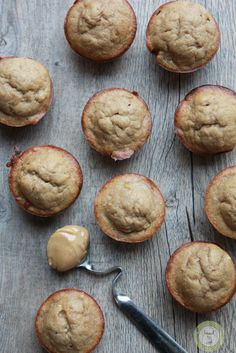 Flourless Peanut Butter Protein Muffins via @Katherine Stang-Nead to Cook #glutenfree