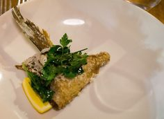 Chermoula Marinated Snapper Wing