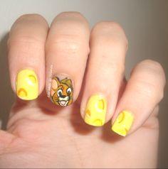 Nail art Cartoon Network, Tom y Jerry