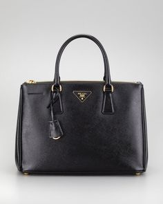 Prada Saffiano Executive Small Tote