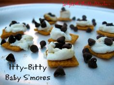 ~LadyWithTheRedRocker~ Itty-Bitty Baby S'mores.