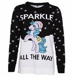 Women's My Little Pony Sparkle All The Way Knitted Jumper