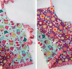 reversible child's apron