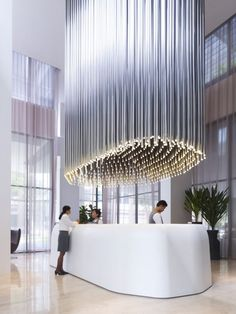impressive lighting effect in Studio M Hotel designed by Piero Lissoni and ONG | Find more inspirations and news in http://www.bocadolobo.com/en/inspiration-and-ideas/