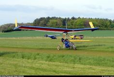 Pterodactyl Ptraveller #aircraft #aviation #microlight #ultralight #flexwing #piston #uk
