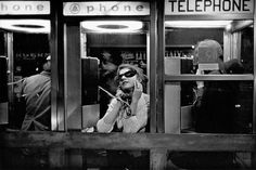 Frank Paulin, Phonecall, New York, 1970 Wallace #truenewyork #lovenyc