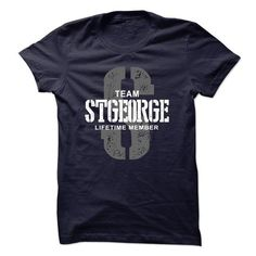 Awesome Tee Stgeorge team lifetime member ST44 Shirts & Tees