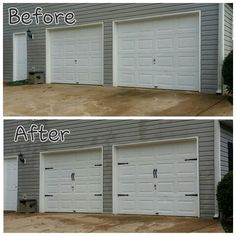 1000 images about for the home improvements upgrade ideas for Dress up your garage door