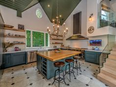 PHOTOS: Step Inside Chris Hemsworth's Victorian-Style Malibu Home – on Sale for $6.5 Million | FOOD FOR THOUGHT | We can't help but feel a tinge of jealousy after peeking inside the family's kitchen – which is as inviting as it is luxe.