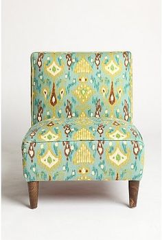IKAT print chair