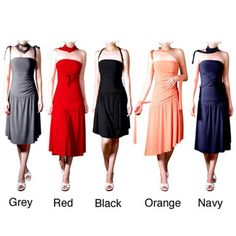 @Overstock.com - Make a chic and creative addition to your wardrobe with a tube dress from EvaneseWomen's adjustable clothing allows you to create your own lookCausal dress offers two side straps that will allow you to pull the skirt up or downhttp://www.overstock.com/Clothing-Shoes/Evanese-Womens-Adjustable-Jersey-Tube-Dress/3841397/product.html?CID=214117 $53.99