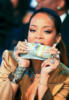 June 28: Rihanna attends the 2015 BET Awards in Los Angeles