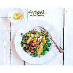Ensalada de azukis con aguacate ¡Rica y saludable!#avocatacacias #aguacatehass #consumemashass