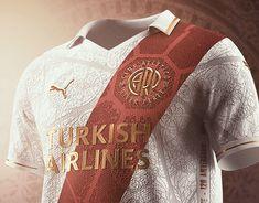 Atlético de Madrid on Behance Football Design, Football Kits, Heart Location, Behance, Personal Portfolio, Graphic Sweatshirt, Sweatshirts, Student, Graphic Design