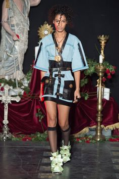 #FaustoPuglisi     #fashion   #Koshchenets   Fausto Puglisi Spring 2017 Ready-to-Wear Collection Photos - Vogue