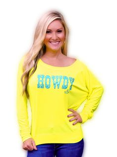 Howdy-Long Sleeve - Ali Dee Collection