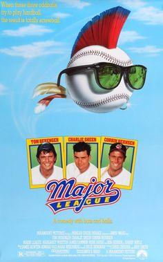 Major League (1989) Original One Sheet Movie Poster