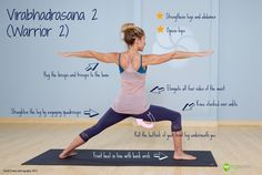 Want to know how to do Warrior 2 correctly? #onlineyogaclasses #onlineyoga #streamingyogaclasses #beginnersyogaclassesonline