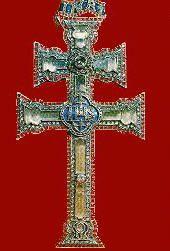 La Cruz de Caravaca es, según la tradición, una reliquia de la Cruz en la que Jesucristo fue crucificado y que encontró la Emperatriz Santa Elena. Se conserva en un relicario con forma de cruz patriarcal de doble brazo horizontal (de 7 cm el superior y de 10 cm el inferior) y de uno vertical (de 17 cm), en la Basílica del Real Alcázar de la Vera Cruz en Caravaca de la Cruz (Región de Murcia, España) y es patrimonio religioso de la Real e Ilustre Cofradía de la Santísima y Vera Cruz de…