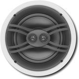 """Yamaha - 8"""" 3-Way In-Ceiling Speakers (Pair) - White, NSIW480CWH"""