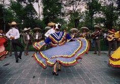 Art print POSTER Mexican Hat Dance
