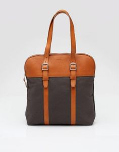 Billykirk :: Flight Bag. Made in the USA. Mine in Auburn and Black, perfect for laptop,
