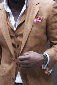 Caramel suit
