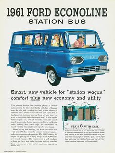 1961 Ford Econoline Station Bus | Flickr - Photo Sharing!