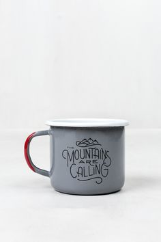 John Muir Enamel Steel Mug | United By Blue