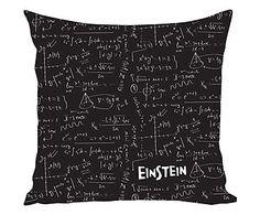 Funda de cojín Einstein - 45x45 cm