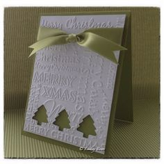 CAS card, Christmas card, Stampin Up