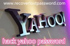How to hack Yahoo password? Try a yahoo password hacker!