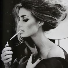 Few things are more disappointing to see than a drop dead gorgeous woman lighting up a cigarette...
