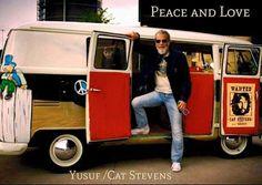 Cat Stevens, Beautiful Soul, Peace And Love, Vinyl Records, The Man, Van, Man Cave, Beautiful Hearts, Vans